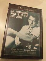 dvd   EL HOMBRE DEL BRAZO DE ORO CON (FRANK SINATRA Y KIM NOVAK)