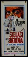 Film Followers By Satana City Of Mostri Haunted Palace Corman Price N12