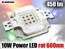 1 Stück 10W Power LED rot 660nm 450lm Uf=6,1V, Imax=1050mA