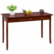 Wood Console Table Writing Desk with One Drawer Entryway Living Room Furniture