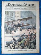 La Domenica del Corriere 11 aprile 1920 Aviatore Pickup - Homberg - G. Visconti