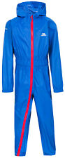 Trespass Boys Button II Waterproof Breathable Windproof Rain Suit 5 Years Tre2929-blu-5