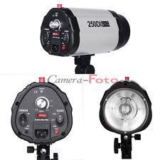 Pro 250DI 250W Photo Studio Light Flash Strobe Head Light Holder UK Plug earthed