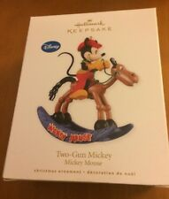 Hallmark Disney Ornament Two-Gun Mickey from 2010