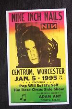 Nine Inch Nails Tour poster 1995 Centrum Worcester