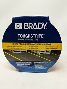 "BRADY ToughStripe B-514 Tape,2"" In.Wide,100 ft. L,  RED / WHITE"