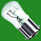 10x 25w Transparente Pygmy bombillas, BC, SBC O SES, B22, B15 o E14