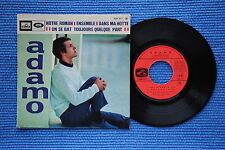 ADAMO / EP LA VOIX DE SON MAÎTRE EGF 977 / VERSO 1 / BIEM 1967 ( F )