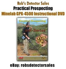 Practical Prospecting with Minelab GPX Series Metal Detector DVD  (GPX 4500)