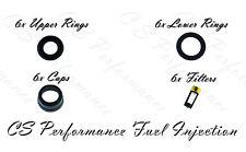 Chevy Olds Fuel Injector Seal Repair Kit Viton Orings Filter Pintle Caps CSKDL26