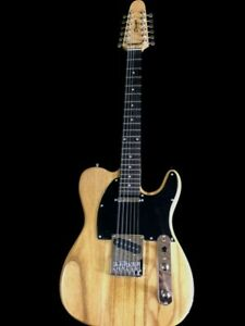 NEW TELE STYLE NATURAL CONCERT 12 STRING SOLID ELECTRIC GUITAR