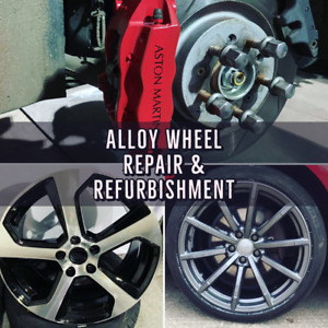 Alloy wheel refurbishment, powder coating and diamond cutting - Best Quality