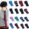 Wool Knitted Casual Men Gents Narrow Necktie Tie Business Wedding Party J