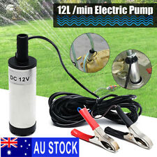 12V 38mm Electric Submersible Water Pump Oil Fuel Transfer 12L/min 8700r/min S