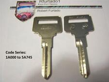 Key Blank for Volvo Ignition 1978 to 1985 - See Listing for Apps. - (VL6)
