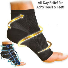 Swelling Relief Ankle Foot Elastic Compression Socks Increase Blood Circulation