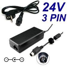 Cargador Corriente 24V 3A 3 PIN Reemplazo ITP Thermal Receipt Printer ITP-81 +