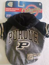 New listing Ncaa Purdue University Hoodie for Dogs & Cats, X-Small.