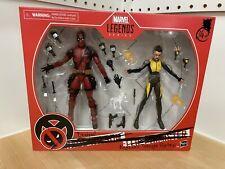 Deadpool & Negasonic Teenage Warhead 2pack X-Men Marvel Legends 6 inch figures