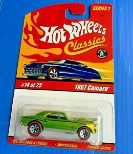 Hot Wheels Classics 1967 Camaro Super Rare
