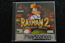 Rayman 2 the great escape Playstation 1 PS1 Platinum Geen Front Cover