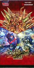 Baraja Cardfight Vanguard The Destructive Roar inglés Extra Booster Box