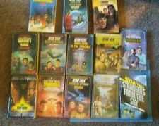 13 Star Trek Novels.  See description for list of titles. Paperbacks