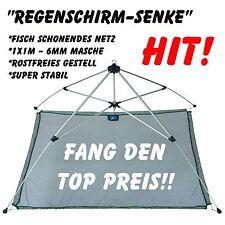 Stabile Köderfischsenke Regenschirmsenke Senke 1x1m - hochwertige Markenware !!!