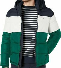 Tommy Hilfiger mens Classic Hooded Puffer Jacket...