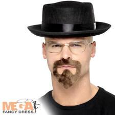 Breaking Bad Beard Hat Glasses Heisenberg Kit Costume Fancy Dress Smifys 20499