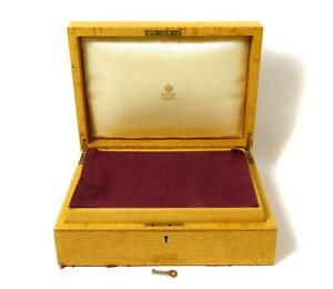 Wooden box with Faberge factory logo for fish forks and knives for 12 persons.