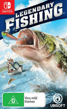 Legendary Fishing Switch Game NEW