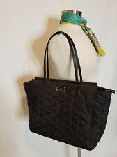 Kate Spade Black Quilted Tote Bag P