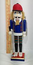 """Christmas Golfer Nutcracker 15"""" tall"""