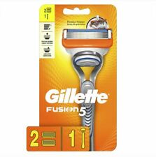 GILLETTE FUSION5 PRECISION MEN'S RAZOR HANDLE AND 2 BLADE REFILL CARTRIDGES