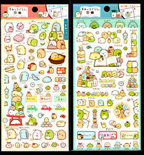 San-x Sumikko Gurashi Sticker Sheet stickers kawaii Japan LOT