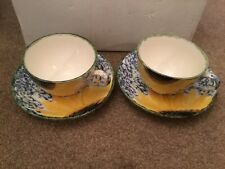 More details for poole sunflower breakfast cups and saucers x 2