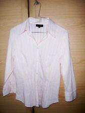 Windsor Bluse Hemd Frauen, Rosa Beige Weiß, Muster Gr. 36, sehr gute Qualität