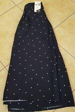 NWT Women's Plus Society Kate Midington Navy Polka Dot Skirt Size 26/28 Princess