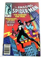 The Amazing Spider-Man #252 1st Appearance Black Costume Marvel Comics 1984