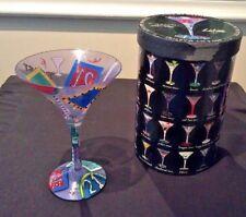 "MARTINI GLASS LOLITA LOVE MY MARTINI 21 ""CHEERS, LEGAL, TOAST"" RECIPE KEEPSAKE!"