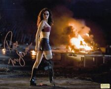 ROSE McGOWAN signed Autogramm 20x25cm PLANET TERROR in Person autograph COA