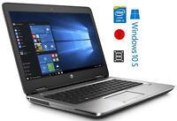 "HP ProBook 640 G1 i5-4300m @ 2.6GHz 14"" 8GB 256GB HD WINDOWS 10 LAPTOP"
