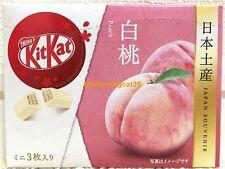 ONLY SELL AIRPORT Nestle Kitkat Kit Kat Chocolate Peach 3 mini bar 1 box JAPAN