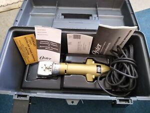 Oster Clipmaster Variable Speed Clipper for Horses,  Larger Dogs, plus extras!