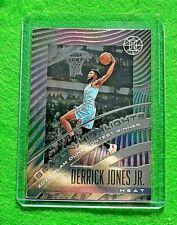 DERRICK JONES JR. SEASON HIGHLIGHTS CARD MIAMI HEAT 2019-20 ILLUSIONS BASKETBALL