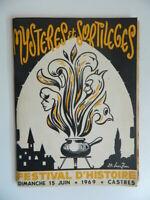 Programa Festival Historia De Castres Mystères Y Hechizos 1969