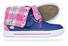 Casual Trainers Canvas Medium Width Shoes for Girls Buckle