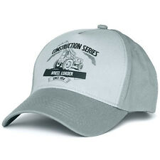 Volvo Construction Equipment Construction Series Wheel Loader Truck Gray Cap/Hat