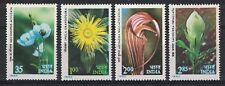 INDIA:1982 SC#959-62(4) MNH - Himalayan Flowers